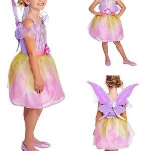 Other - Fairy Flower w/Wings & Headband Costume 7-8 NWT